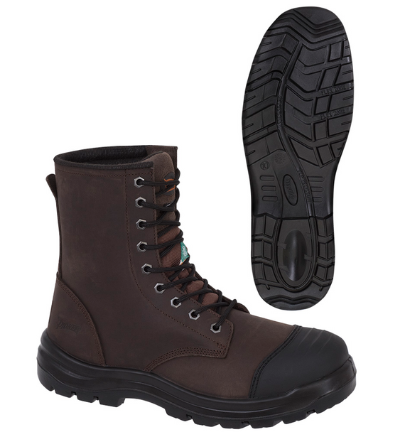 Brown - 1028 Leather 8 Inch Work Boot | Safetywear.ca