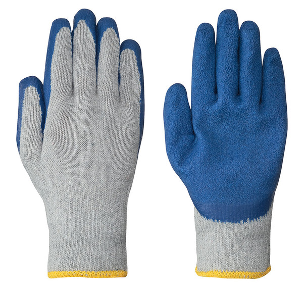 Grey -  5330 Seamless Knit Latex Glove   Safetywear.ca