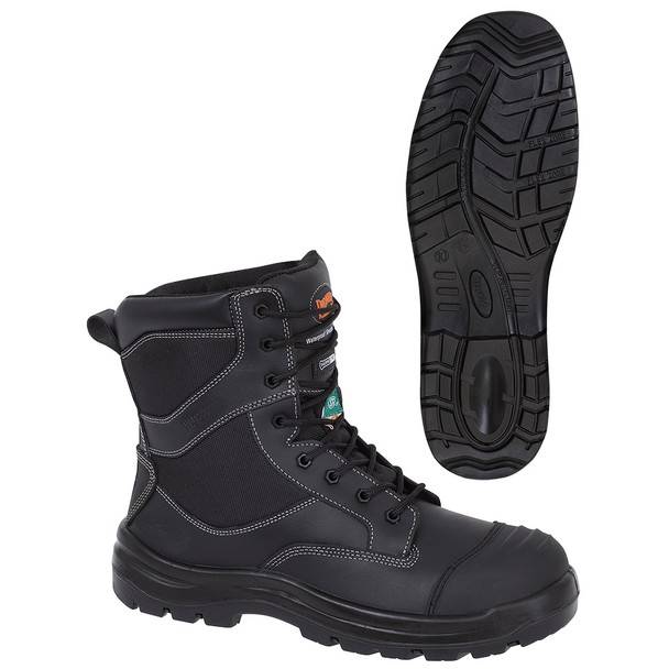 1050 Composite Toe/Plate Metal-Free Leather Safety Work Boot