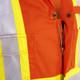 Orange - 7702T FR-Tech™ Flame Resistant 7 oz Hi-Viz Safety Coverall - Tall | Safetywear.ca