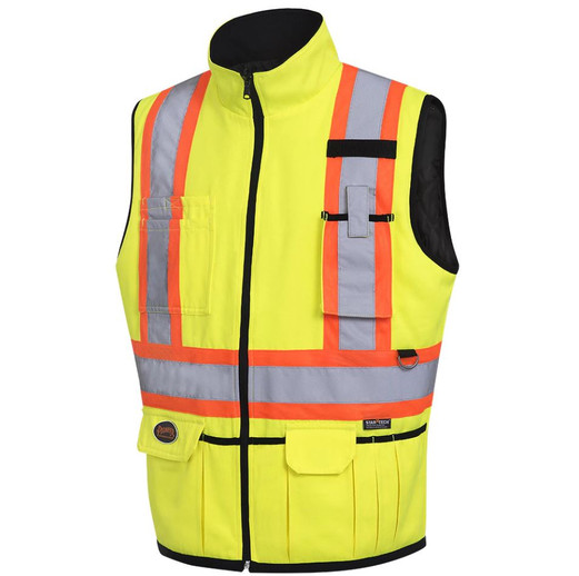 Staff Pick: Pioneer 6689 Hi-Viz Reversible Insulated Safety Vest