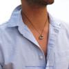 Modern mens necklace