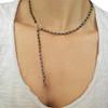 Modern rosario necklace