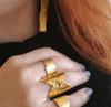 Greek Warrior Ring Statement ring Greek Ring Minimal