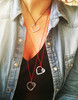 Designer jewelry heart