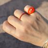 Greek jewelry designers, enamel rings