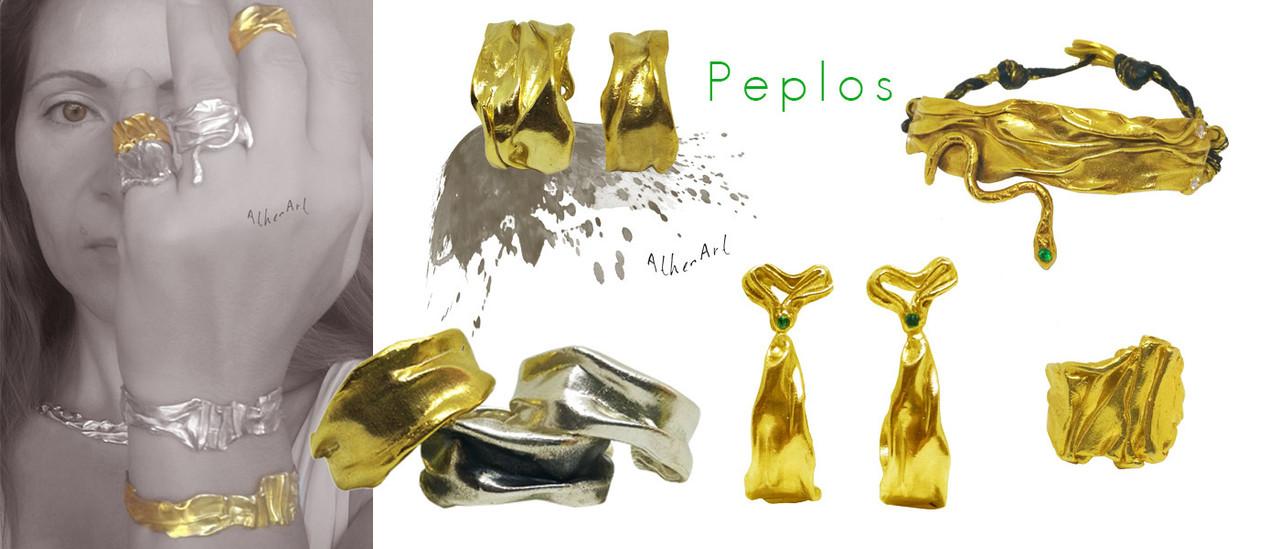 Greek Peplos -Ophis-WAVES