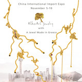 Ophis Necklace is now exhibited at China International  Import Expo  in Shanghai  5-10 Of November