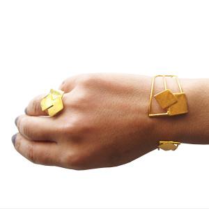 Greek cuff bracelet ,designer bracelet