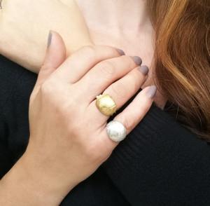 Chevalier Silver Ring | Minimal Ring | Handmade|Designer ring