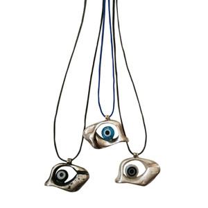 Evil eye pendant|Contemporary charm|Eye necklace|Contemporary pendant