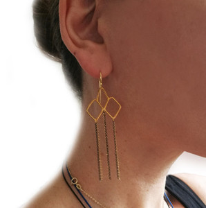 Greek designer earrings