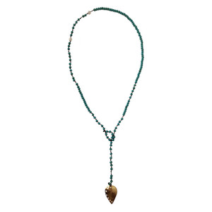 Blue Boho Necklace with Turquoise |Designer Choker  Necklace |