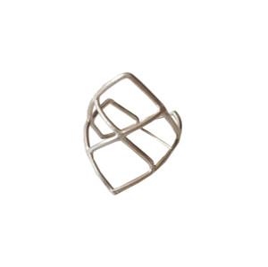 Mesh ring made of sterling silver|Designer Ring