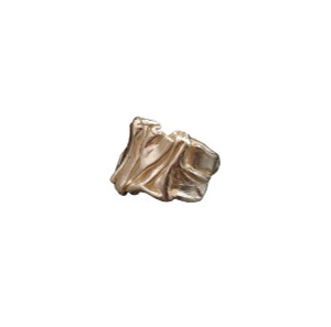 Greek Jewellery -Χιτώνας δαχτυλίδι εμπνευσμένο απο τις πτυχώσεις αρχαίων ελληνικών Ενδυμάτων.