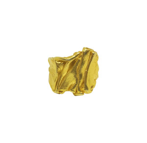 This  Chiton  Ring Inspired by Ancient Greek Garments~Peplos- Chiton & it is Available in Silver, Black and Gold Finish