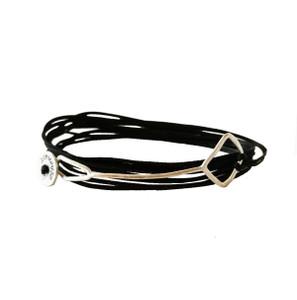 Modern unisex wrap bracelet