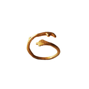 Gold Twig Ring|Designer Jewelry in Gold 9,14,18k|Modern Gold Ring