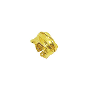 Athenais Gold Greek Ring Inspired by the Folds and Forms of ancient Greek Garments