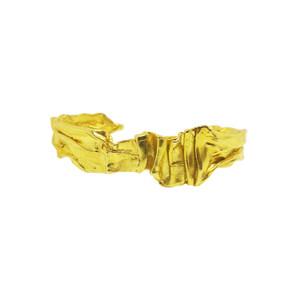 Greek Gold Cuff, Βραχιόλι χρυσό,χειροπέδα χρυσή