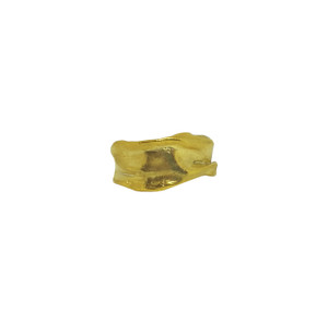 Gold Athenais Ring, this ring is inspired by the folds and shapes of Ancient Greek Garments