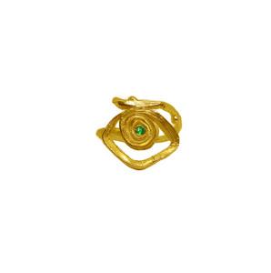 Spiral eye jewelry