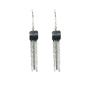 Rock Style Earrings with chains and Pearls|Contemporary sytatement Earrings