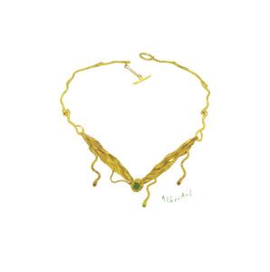 Οlympiada Necklace-Κολιέ Ολυμπιάδα-Greece Inspired Necklace
