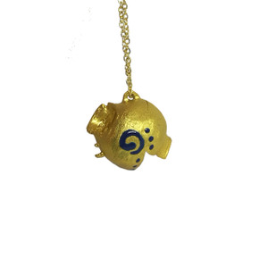 Collectible wearable art Pendant with Spiral -The Greek Kanata Project