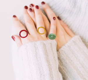 xωματιστα δαχτυλίδια σχεδιαστή, athenart