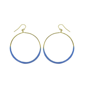 Big Hoops with colors, fashion jewelry for everyday