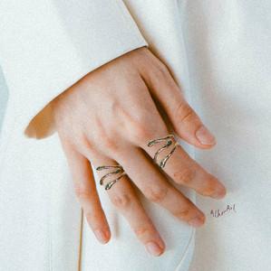Greek jewelry designers, snake rings