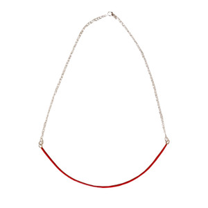 Mona Necklace with enamel in many colors and chain