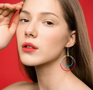 Bohemian, fashion statement earrings