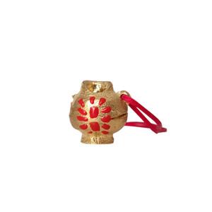 Collectible mini Jug pendant , unique wearable art jewelry