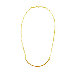 Enamel Necklace Mona Mini, made of silver 925 in many colors to choose