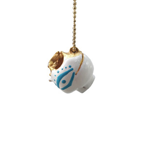 Mati, Evil Eye Stamna Pendant inspired by Ancinet Greek Pottery to sword evil eyes