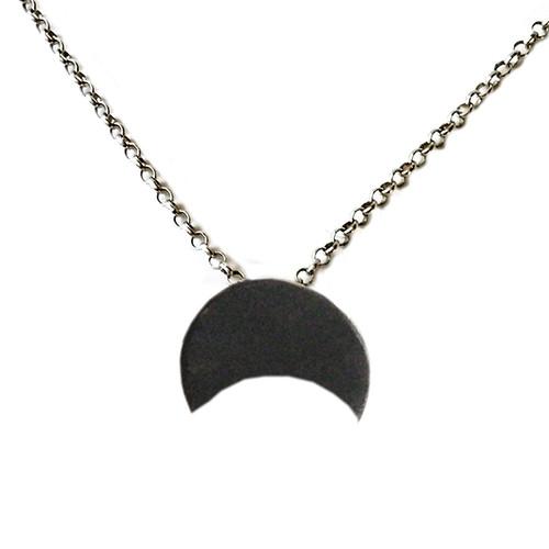 Half moon necklace