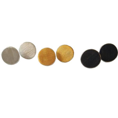 Circle Stud Earrings|Sun Stud Earrings|Minimal Earrings|Gols,oxidized,silver