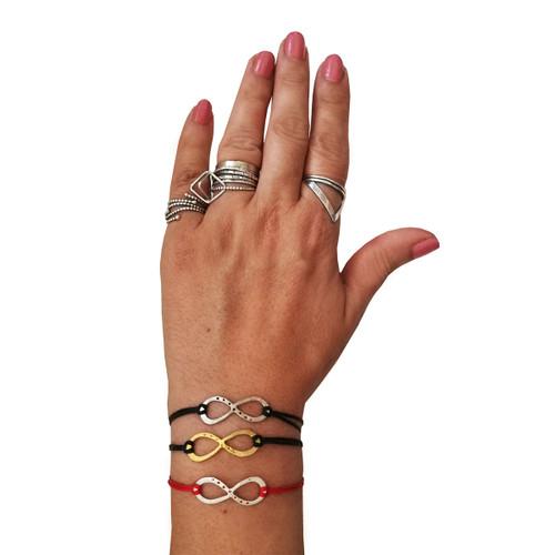Infinity Silver Bracelet | Friendship Gift Relationship Gift