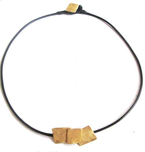 Gold Vermeil  necklace|Greek necklace|Designer necklace