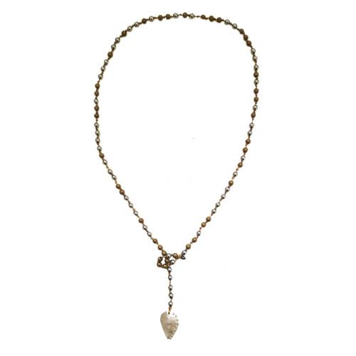 Convertible Necklace - Bracelet Rosary style Necklace