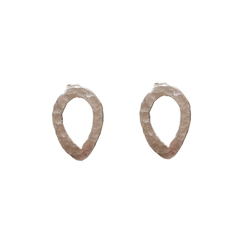 Silver Drop Stud Earrings for everyday,comfortable and stylish