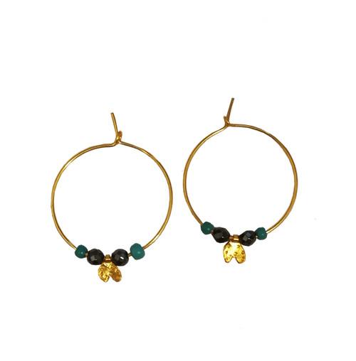 Small Hoop Earrings|Boho Style Earrings