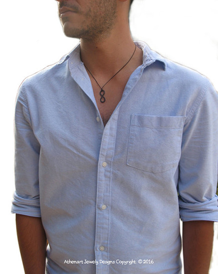 Mens Infinity Necklace | Friendship Necklace | Relationship Necklace