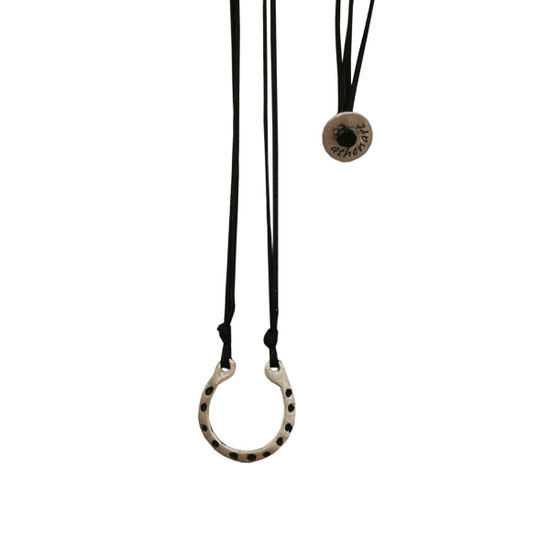 Horseshoe Lucky charm pendant for him and her