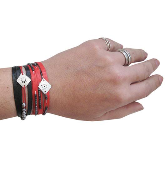 Statement wrap bracelets