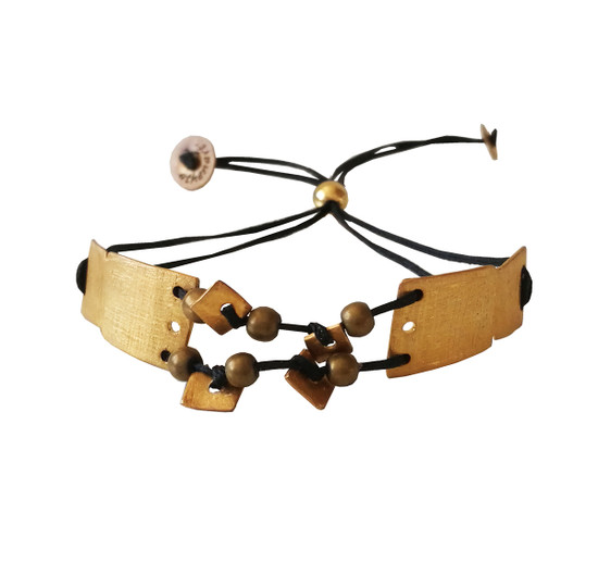 Silver bracelet Athena Greek Jewelry Statement bracelet Greek designer