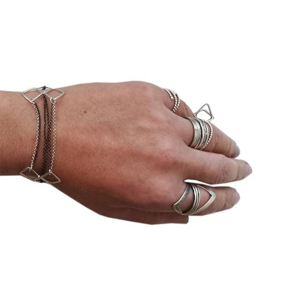 rock style bracelet