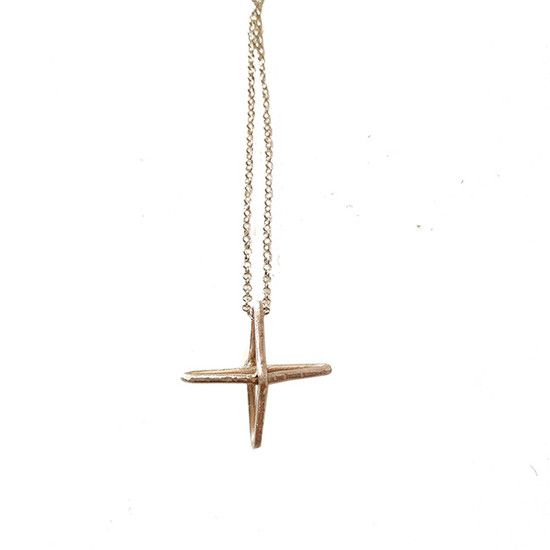 silver cross  by designer